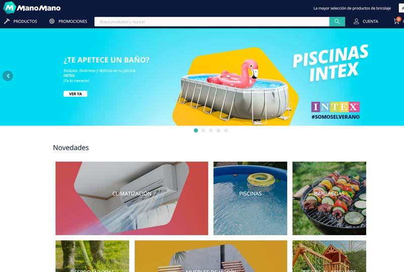 ManoMano web